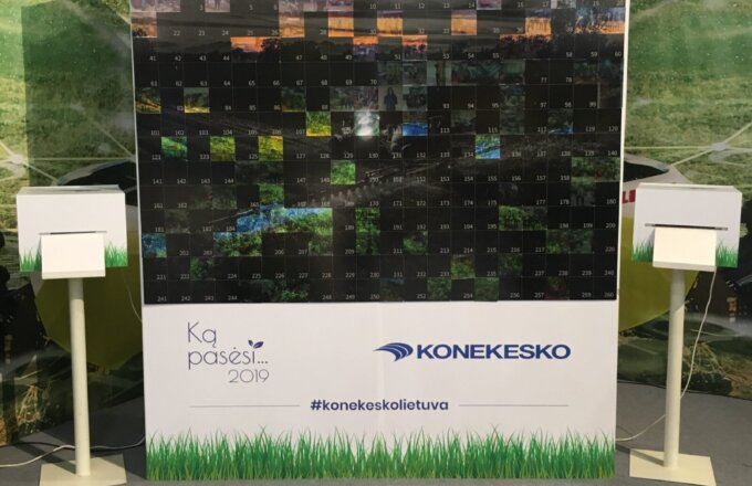 Event Photo Mosaic Wall Hire