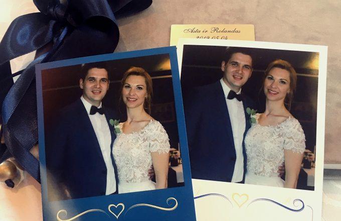 Vestuvių nuotrauka - palinkėjimas